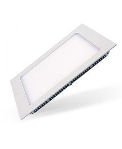 painel quadrado led embutido