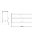Perfl LED Piso D Tecnico
