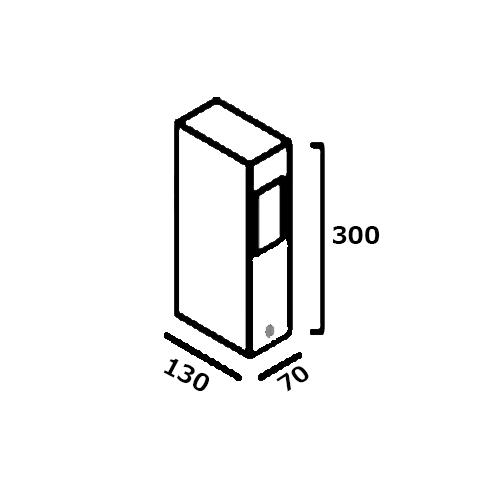 Desenho Técnico Balizador LED